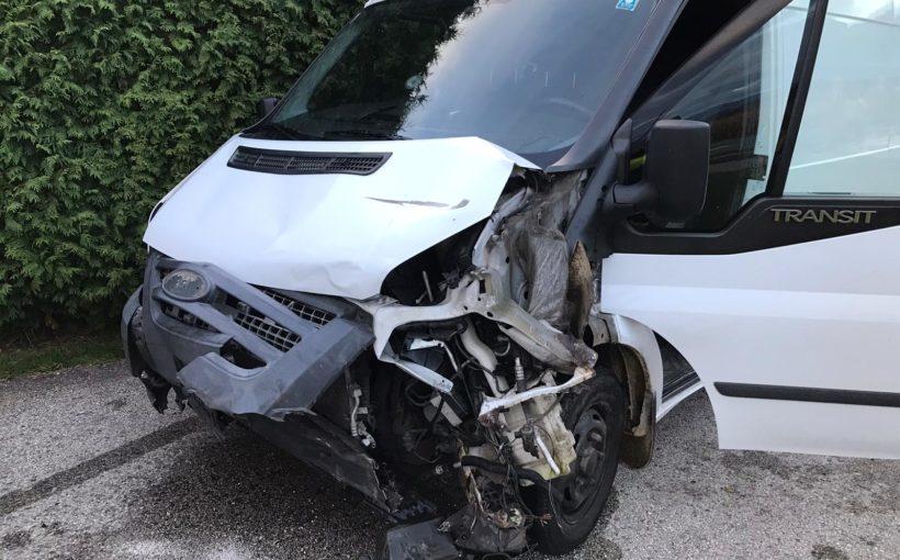 Verkehrsunfall mit Blechschaden