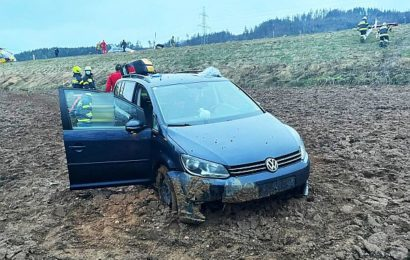 Verkehrsunfall Lavamünder Bundesstraße B80
